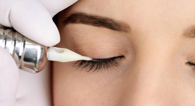 micropigmentacion de ojos delineado