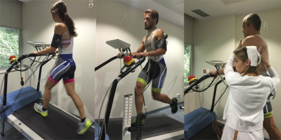 running en la prueba de esfuerzo