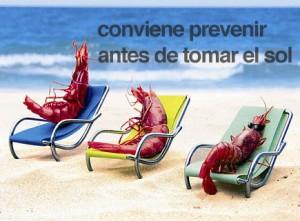 prevención antes de tomar el sol