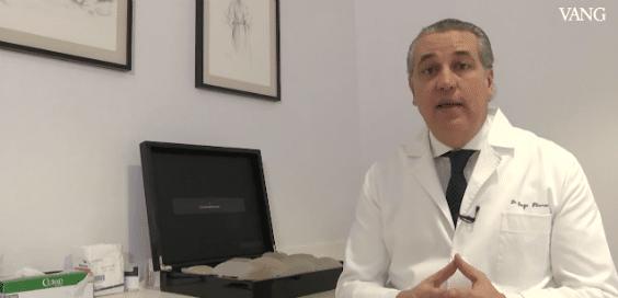 Recambio implante mamario