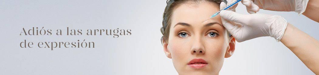 Botox - Arrugas de expresión