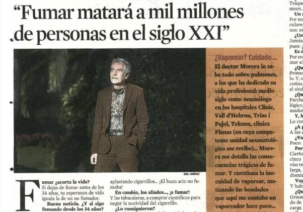 Josep Morera, neumólogo Clínica Planas