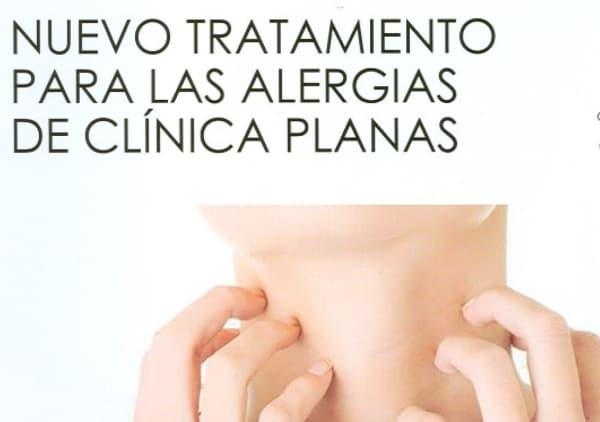 Nuevo tratamiento para las alergias de Clínica Planas