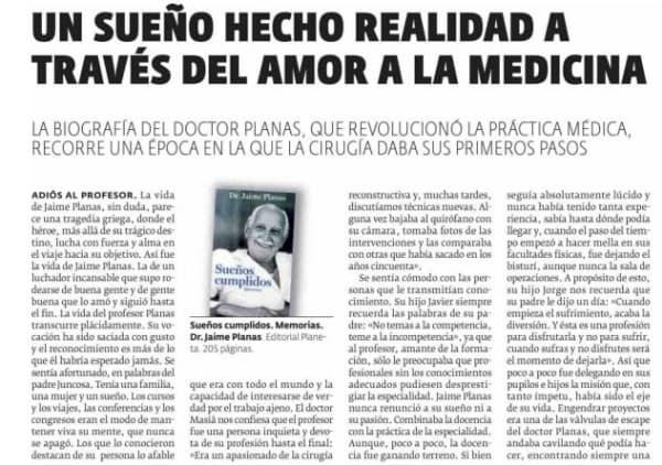 UN SUEÑO HECHO REALIDAD A TRAVÉS DEL AMOR A LA MEDICINA