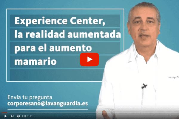 Experience Center, la realidad aumentada para el aumento mamario